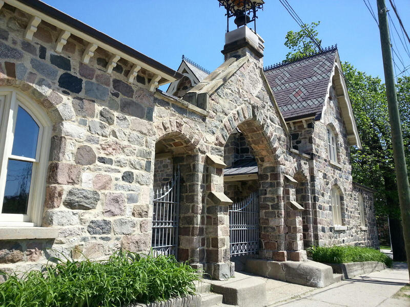 Gatehouse at Forest Hill Cemetery.