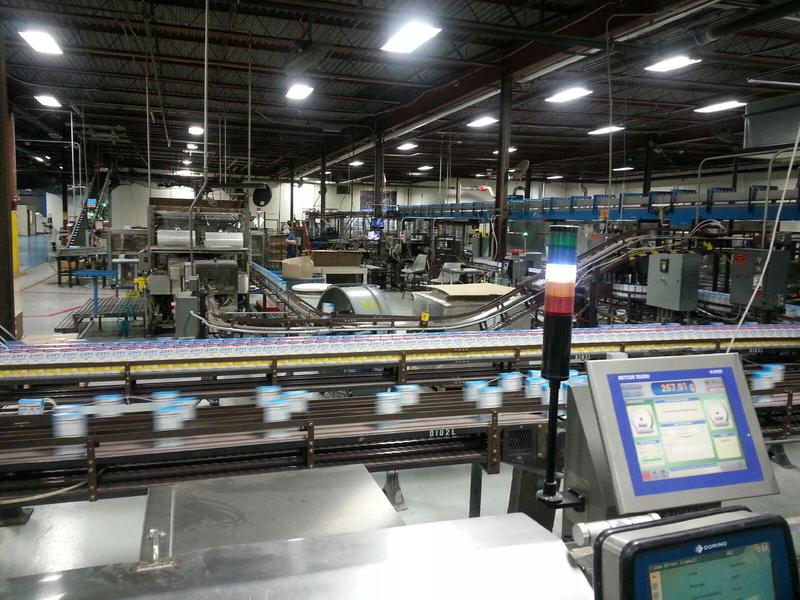 Factory floor.