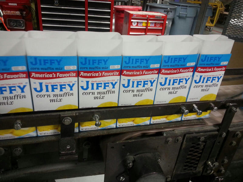 The Corn Muffin Mix is Jiffy's most popular item.