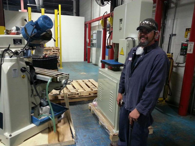 Jeffrey Cammet is a maintenance worker at Jiffy Mix.