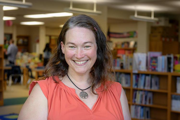 Social Worker Jody O'Bryan at Erickson Elementary