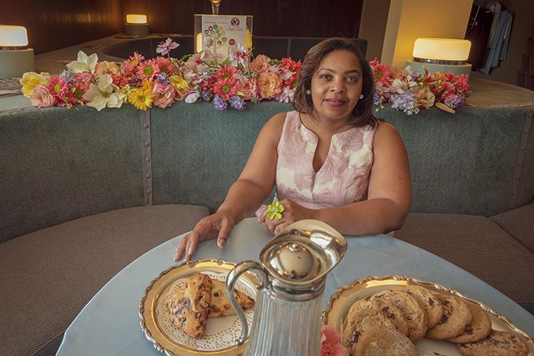 Khadija Wallace at Joyful Treats Catering on Ecorse Road