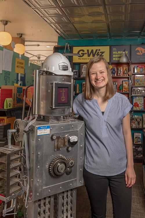 826michigan program coordinator Megan Gilson