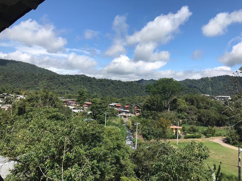 The City of Mindo Ecuador.
