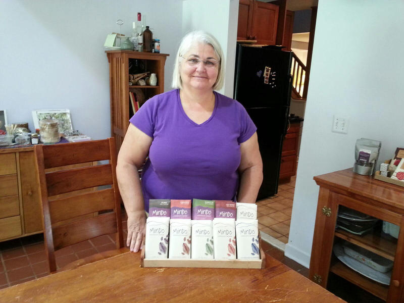 Barbara Wilson co-owns Mindo Chocolate Makers.