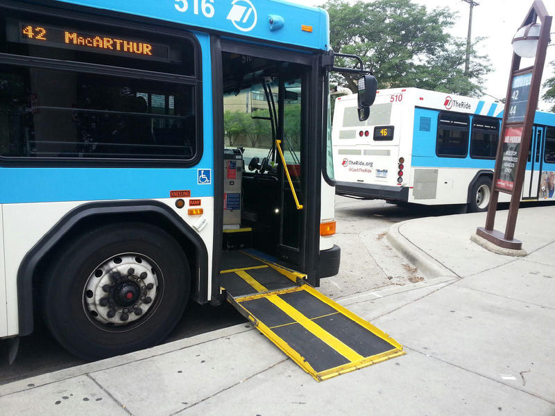 The millage would continue to support paratransit services.