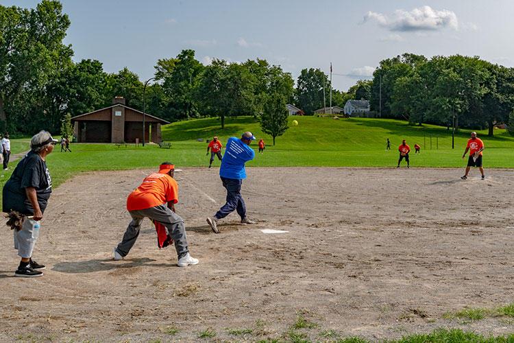 Softball at Parkridge Park