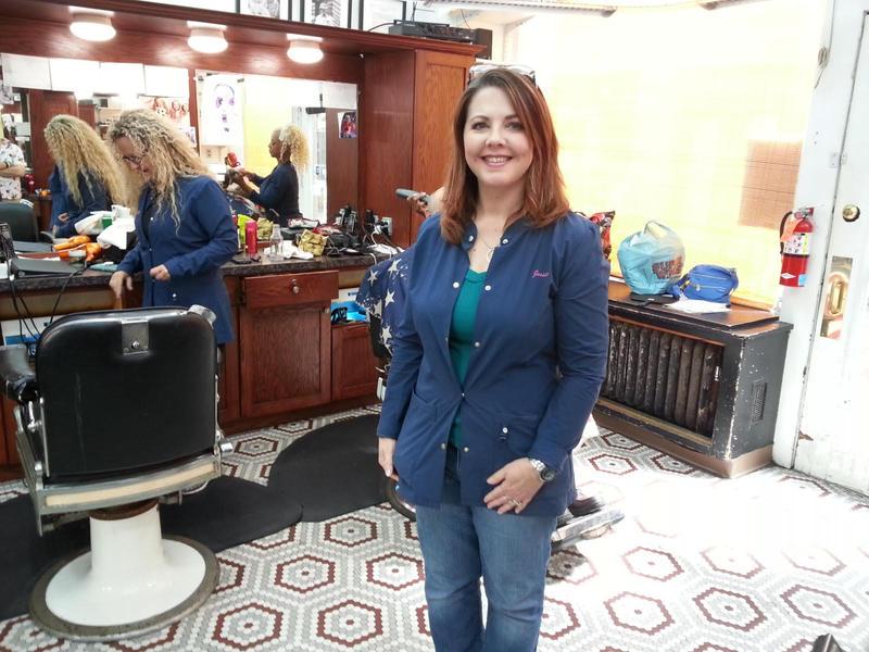 Jessica Borel of Arcade Barbers