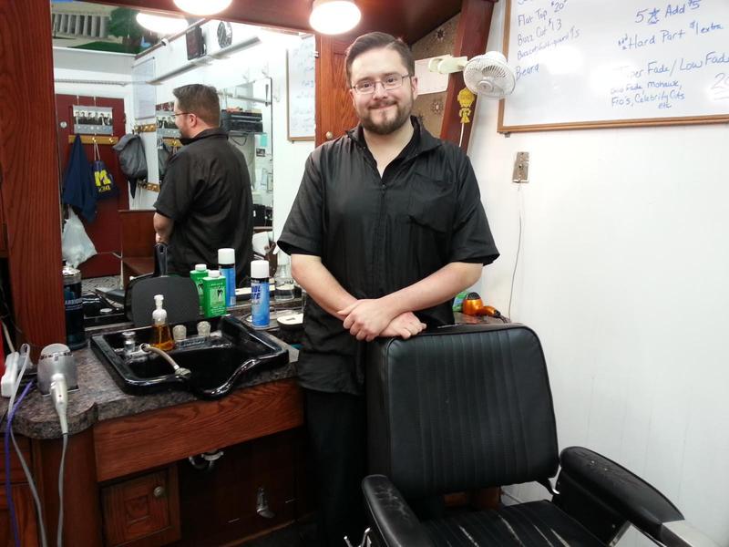 Rick Ingalls of Arcade Barbers