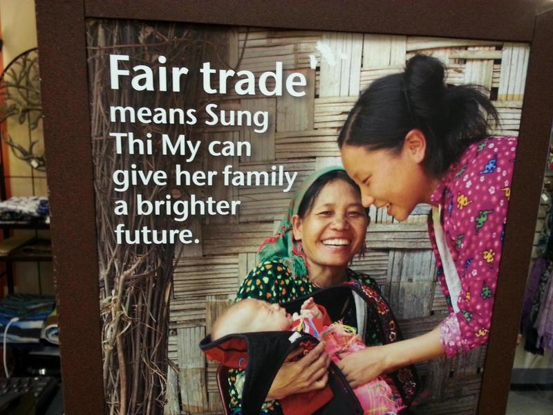 "Ten Thousand Villages's ""Fair Trade"" ad"