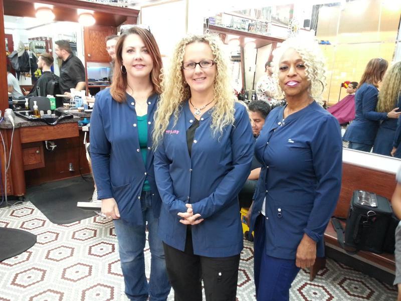(L to R) Jessica Borel, Tiffany Royal, and Tina Hamilton