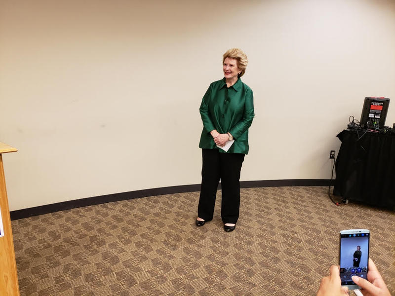 "Senator Debbie Stabenow kicked-off her ""Made in Michigan"" tour on Monday."