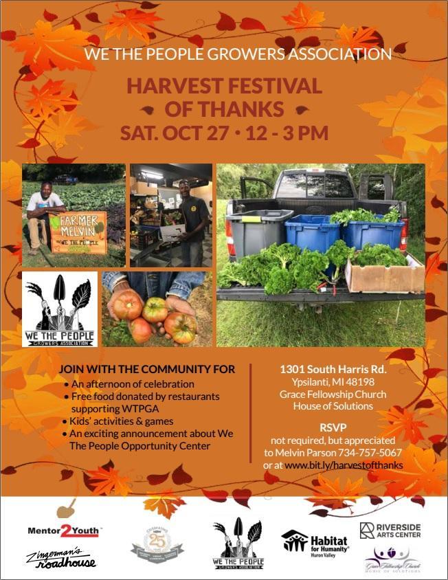Harvest Festival of Thanks