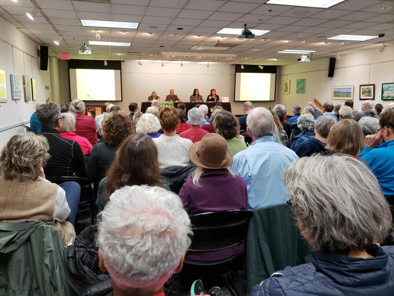 A panel discussion on Proposal A was held at the downtown Ann Arbor Library branch on October 25th.