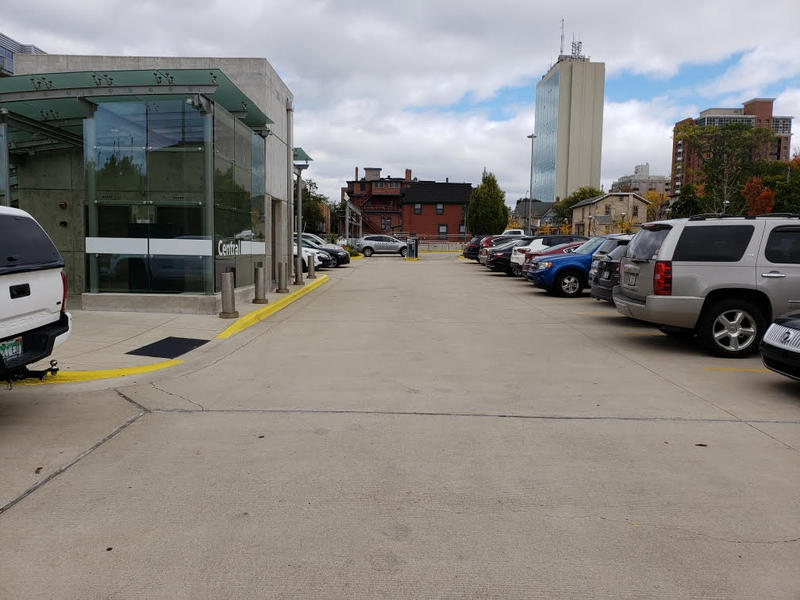 """""""Library Lot"""" in downtown Ann Arbor."""