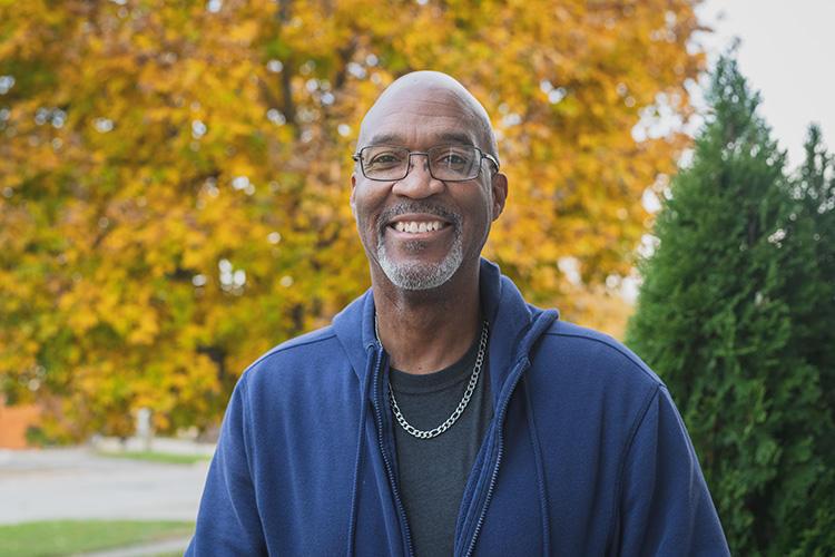 Maurice Stovall Sr., chair of the Gault Village Neighborhood Association