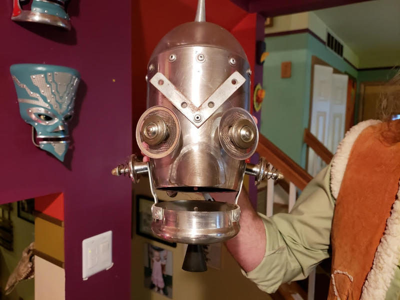 This was the first robot Fuller made.
