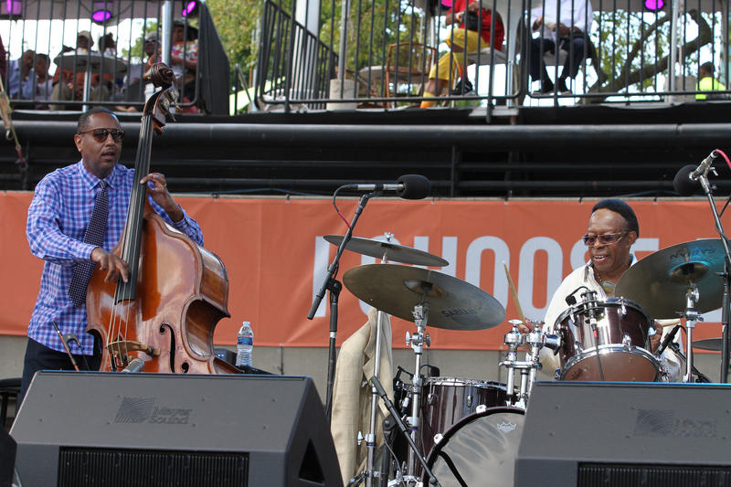 Homecoming Band: Kirk Lightsey with the Louis Hayes Trio on the festival main stage