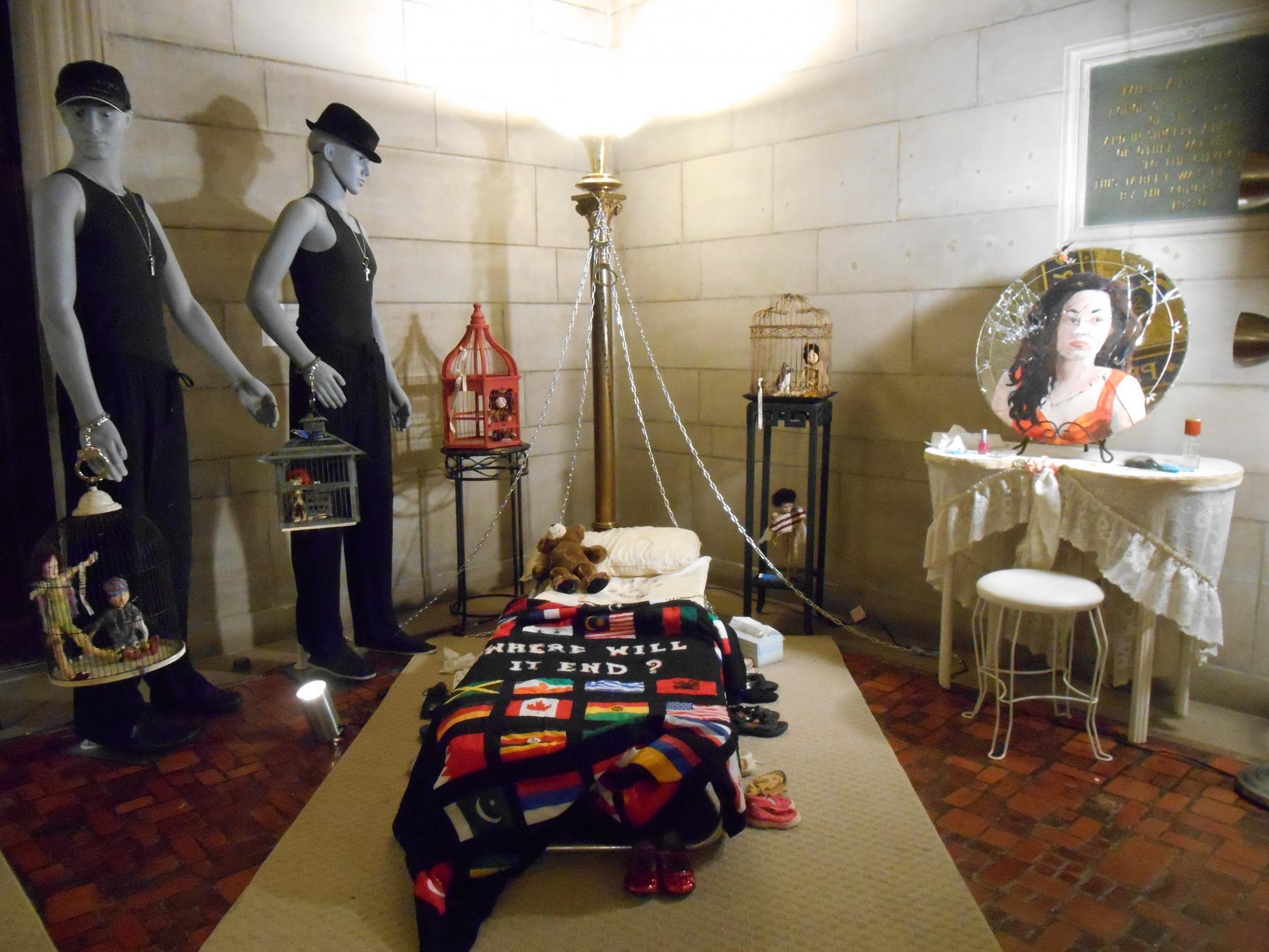 Art Exhibit Shines Light On Human Trafficking Wemu