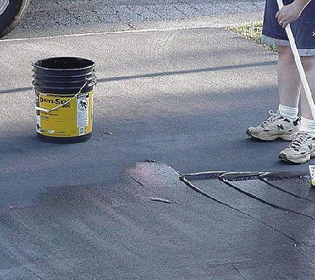 Issues of the environment the dangers of coal tar for Can i paint asphalt driveway