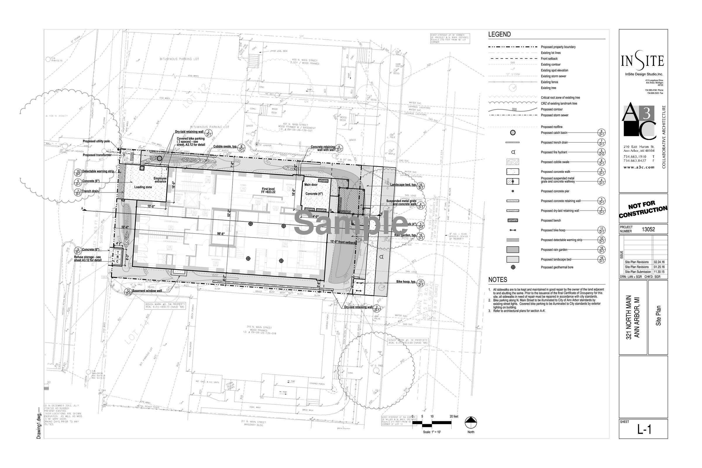 Ann arbor planning commission expected to approve community bath blueprint of planned bathhouse in ann arbor malvernweather Choice Image