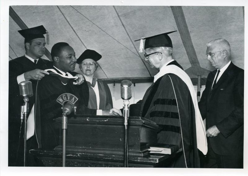 The Rev. Dr. Martin Luther King, Jr. at Keuka College