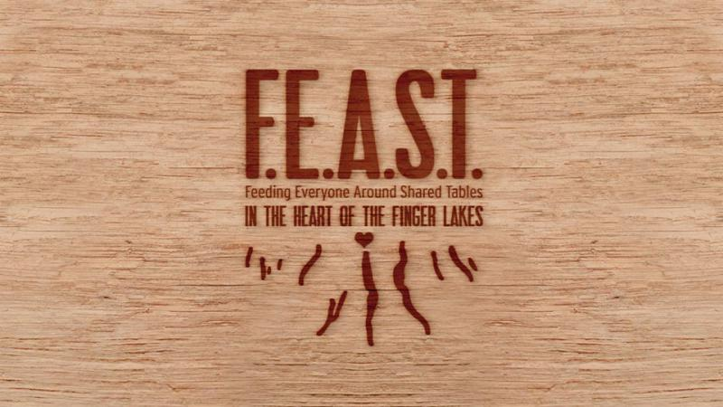 FEAST in the Heart of the Finger Lakes logo