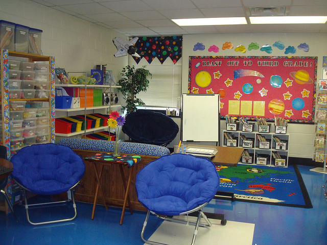 Special Education Classroom Decoration ~ Study shows classroom decor can distract from learning