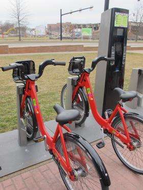 Pittsburghers will be seeing a lot more of these sturdy bikes around town when a bike-share program takes off next year.