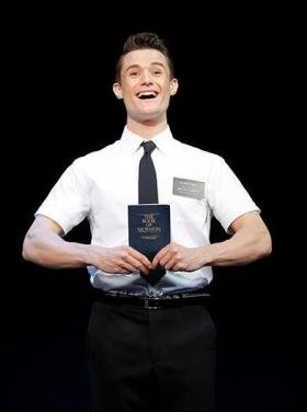 Mark Evans plays Elder Price in the Book of Mormon