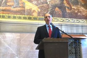 U.S. Sen. Bob Casey will introduce a bill that would require VA facilities to report incidents of Legionnaires' disease.