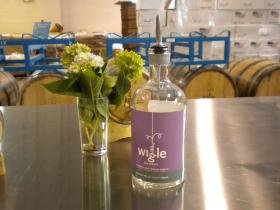 A taste of Wigle Whiskey's distillery tour/history lesson