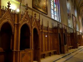 The Roman Catholic Diocese of Pittsburgh is hoping confessionals like these will be well used Wednesday.