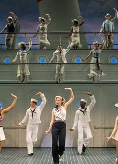 The musical Anything Goes, performed by the Roundabout Theatre Company