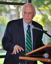 John Dean speaks about legal ethics and the legacy of Watergate