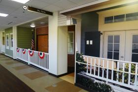 Located inside a building at the Pittsburgh Veterans Affair's Aspinwall campus, the $250,000 MyHome facility was completed in February.