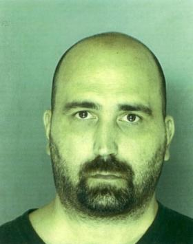 August 2008 mug shot of David Scott Zimmerman.