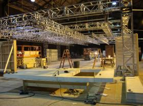 31st Street Studios is said to have the biggest sound stage east of the Mississippi River