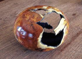 A wood turning by Edric Florence.