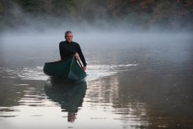 Green Tree resident Ian Davis will soon embark on a 1,000-mile adventure in remembrance of the canoe's former owner, David Burt.