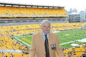 Jack Butler at the 2012 Pro Football Hall of Fame Ring Ceremony