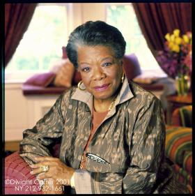 """Maya Angelou talks about her mother Vivian, known affectionately as """"Lady."""""""