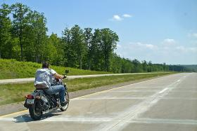 What are some of the reasons bikers have for not wearing a helmet? We want to know.