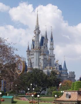 Cinderella's Castle at Walt Disney World in Florida