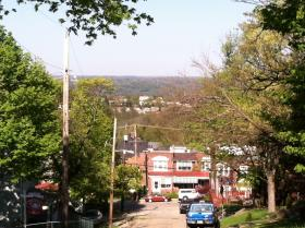 The view from the highest point in Pittsburgh. Can you tell where it is?