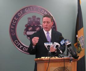 Pittsburgh Controller Michael Lamb released findings of an audit of the Pittsburgh Parking Authority.