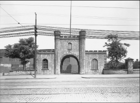 Designed by Benjamin H. Latrobe and constructed in 1814, the Arsenal was used as a military garrison in the manufacturing and storing of supplies during the Civil War, Indian Wars, and Spanish-American War.