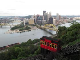 Riding the Duquesne Incline is just one of many ways to spend a Saturday morning in Pittsburgh.