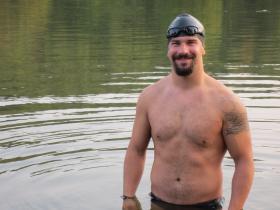 Swimmer Darren Miller