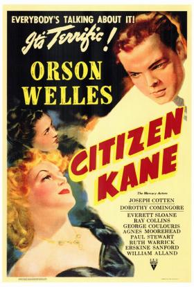 Citizen Kane starts off the September Sunday series for Pittsburgh Filmmakers. The theme: Typewriter Ribbons & Newsreels